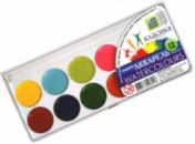 Акварельные краски 12 цветов Серия «Луч Украина»