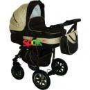 Универсальная коляска 2 в 1 Anmar Eliss New 05L Золотисто-коричневый