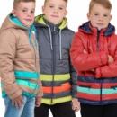 Весенняя куртка для мальчиков 116-140р