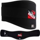 Пояс для тяжелой атлетики RDX Black S