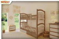 Ліжко двоярусне Жасмін (без матраца та шухляд)