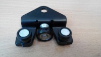 Нижний ролик боковой раздвижной двери Renault Trafic / Opel Vivaro 7700312012/MG