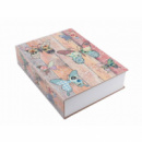 Книга, книжка-сейф на ключе, металл, 180 х 115 х 55 мм