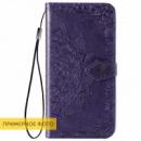 Кожаный чехол (книжка) Art Case с визитницей для Xiaomi Redmi 8a Фиолетовый