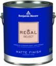 Моющаяся акриловая матовая краска Regal Select Matte Finish - Benjamin Moore 0.946 л