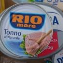 Филе тунца в собственном соку Rio mare, 80 грамм, Италия