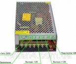 Блок питания адаптер металлический 12 В 30 А / 12V 30A кабель.