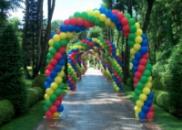 арка из шаров