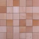 Мозаика деревянная – выполнена из массива дерева