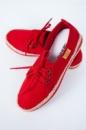 Эспадрильи женские со шнурками AG-0001459 Красный