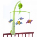 Мобиль на детскую кроватку Chicco Весна бело-зеленый с разноцветными игрушками