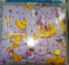 Постельный комплект в детскую кроватку 8 предметов