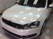 Антигравийная пленка на Volkswagen Passat B7