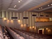Звуковое и осветительное оборудование для залов.