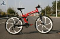 Элитный Велосипед LAND ROVER Red на литых дисках