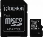 KINGSTON microSDHC 4 GB Class 10 + SD adapter
