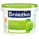 Краска эмульсионная Sniezka Eko (Снежка Эко) 1,3,5,10 л