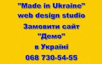 Сайт «Демо» заказать в Украине.
