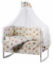 Детская постель Qvatro Gold RG-08 рисунок  салатовая (Винни-пух, Тигра, Пятачок)