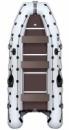 Надувная лодка Колибри КМ-450Д с жестким дном и надувным килем