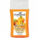 Гель для душа с экстрактом абрикоса и алоэ вера Farmasi Shower Gel Apricot