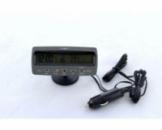 Автомобильные часы VST 7045V термометр вольтметр