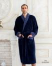 Мужской махровый халат Victoria 1702 размер XL,2XL, 3XL