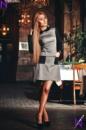 Платье стильное норма 566 НС