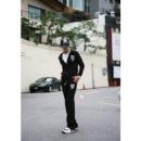 Мужской спортивный костюм Феррари,черный