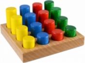 Цветные цилиндры по методике Монтессори, Тато (вк-005к)