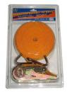 Стяжка груза 3T х47мм х10м ST-213-10 OR(в пластике)