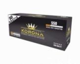 Сигаретні гільзи для набивки табаком KORONA 550шт