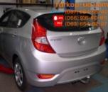 Тягово-сцепное устройство (фаркоп) Hyundai Accent (hatchback) (2011-...)