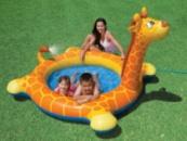 Бассейн Intex 57434 жираф с распылителем