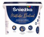 Краска Sniezka Mattlatex Brilliant, 5л/6.8кг