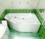 Акриловая ванна ТРИТОН СКАРЛЕТ (Левая) 1670х960х580