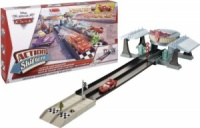 Disney/Pixar Cars Action Shifters Flo's V8 Cafe Dragstrip Playset, игровой набор гонки Тачки - Кафе Фло