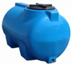 Купить горизонтальные пластиковые бочки для хранения воды на 85 литров.