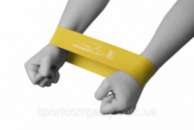 Фітнес резинка PowerPlay 4114 Light Жовта
