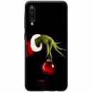 TPU+PC чехол ForFun для Samsung Galaxy A50 (A505F) / A50s / A30s Гринч и елочная игрушка / Черный
