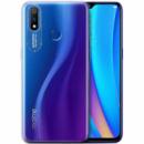 TPU чехол Epic clear flash для Realme 3 Бесцветный / Синий