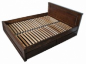 Ліжко деревяне дубове Еліт 160*200