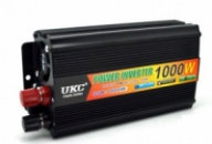 Преобразователь (инвертор) 12V-220V 1000W black