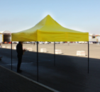 Торговые палатки 3*3 жёлтого цвета Китай