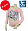 Реглан для девочек (футболка с длинными рукавами) розовый «Mickey Mouse» (Мики Маус), бренд «Disney»