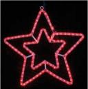 DELUX MOTIF Star красный