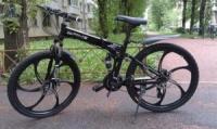 Элитный Велосипед BMW X5 Black на литых дисках