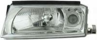 Фара передняя правая неоригинал  с ПТФ 1U1941018P для Skoda Octavia Tour H4+H3
