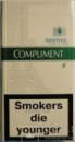сигареты Комплимент деми ментол (COMPLIMENT DEMI MENTHOL)