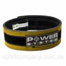 Пояс для тяжелой атлетики Power System Stronglift PS-3840 Yellow